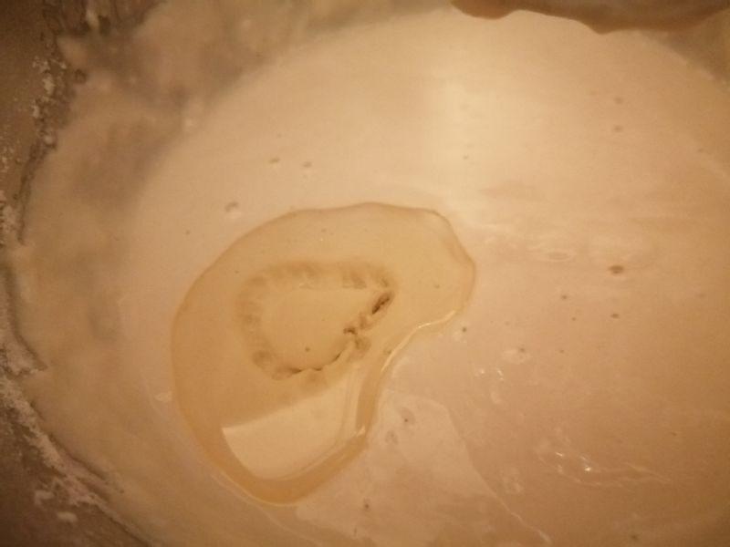 блинное тесто с маслом растительным