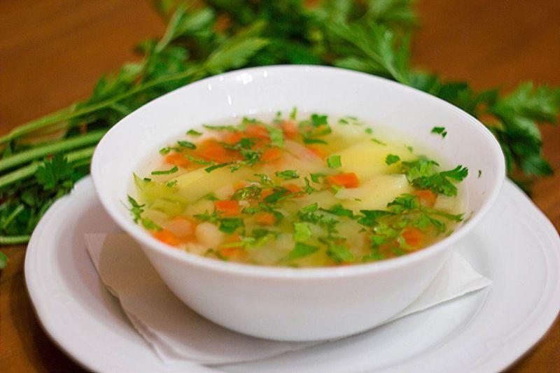 Суп постный вкусный и простой