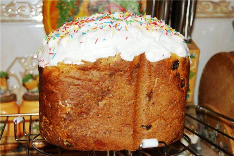 Кулич в хлебопечке супра рецепты с фото